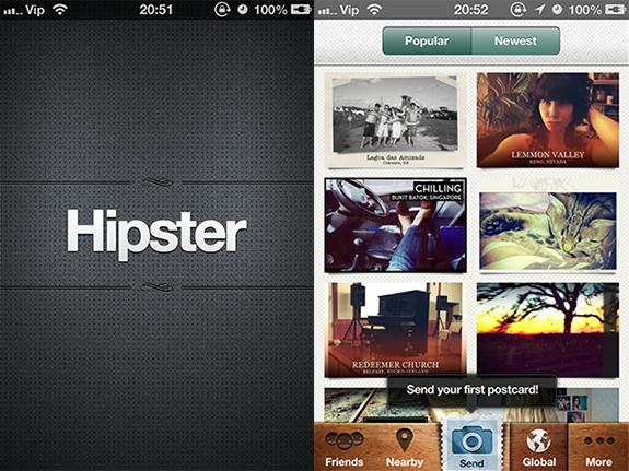 Alternative za Instagram - Hipster